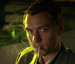 Jude Law in Gattaca