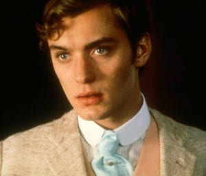 Jude Law in Wilde